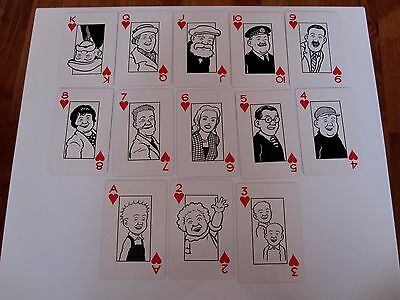 Highly Collectable Boxed Playing Cards Featuring Oor Wullie And The Broons