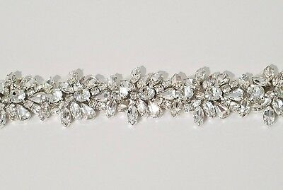 "Wedding Dress Sash Belt - Crystal Sash Belt = 18"" long = BIG SALE!!"