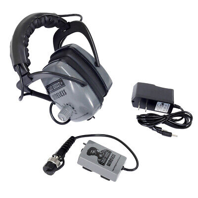Gray Ghost Wireless Headphones for Garrett AT Pro Metal Detector HP-G-GGWATP