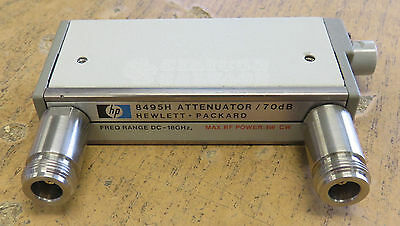 HP Agilent Programmable Step Attenuator DC-18GHz 8495H Opt. 001