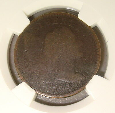 1794 Liberty Cap Copper Large Cent NGC Good Details