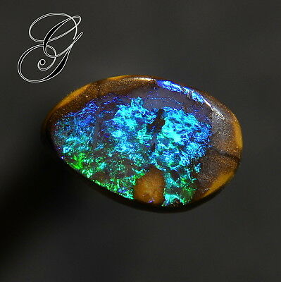 Nice Color Flash Australian Boulder Opal  * 2.29 ct**Opals by Grace**