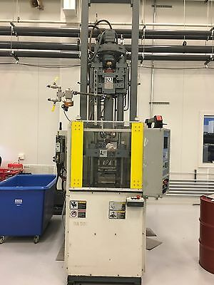 Used 55 Ton Battenfeld Model BA 500V/125V Vertical Injection Molding Machine