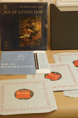 Time Life Age of Revolution LP Set Mint Original Unplayed Boxset Manual Guide
