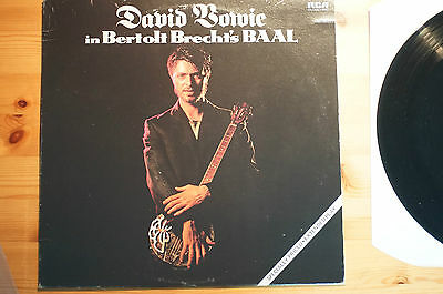 """Rare David Bowie Berthold Brecht BAAL Single Canada IMPORT 12"""" 45RPM RCA 1982"""
