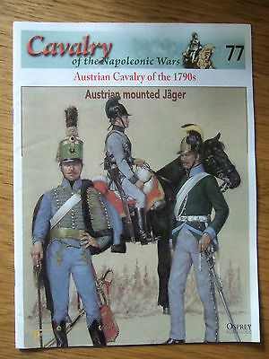 DEL PRADO- CAVALRY-NAPOLEONIC WARS -No 77 AUSTRIAN CAVALRY OF THE 1790s