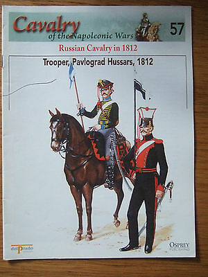 DEL PRADO- CAVALRY-NAPOLEONIC WARS -No 57 RUSSIAN CAVALRY IN 1812