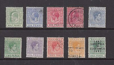 BAHAMAS STAMPS  UNUSED/USED    .Rfno.290.