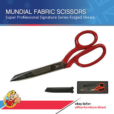 Mundial Scissor Signature Series Dressmaker Carbon Steel Shears Tailor Scissors