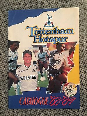 Tottenham Spurs Official Spring Summer Shop Catalogue 1988 89 Gazza