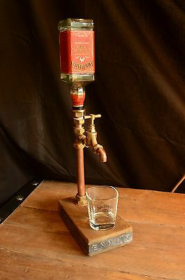 Vintage Industrial Brass/Copper Drink Dispenser Whisky / Vodka / Gin / Cocktails