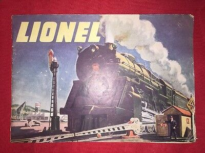 Lionel Train Catalog Product Reference August 1, 1947 Post-war