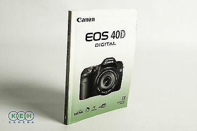 Canon EOS 40D Instruction Manual