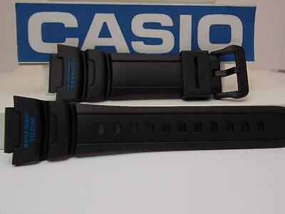 Casio Watch Band SGW-500 -2 Blue Graphics Black.Compass Thermometer Twin Sensor