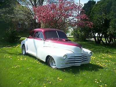 1948 Chevrolet FLEETLINE HOT ROD 1948 CHEVROLET FLEETLINE COUPE STREET ROD