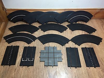 Triang Minic Motorways Black Road Track Pieces M1611 Straights Bends. M1601 Lot
