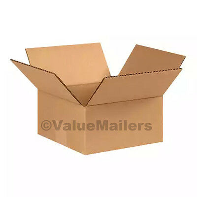 25 12x12x2 Cardboard Shipping Boxes Cartons Packing Moving Mailing Box