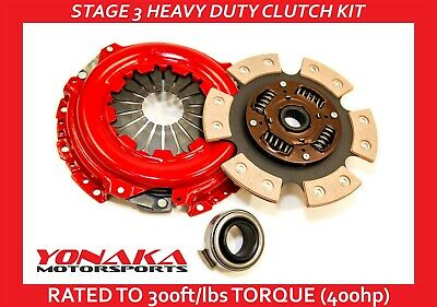 Yonaka Heavy Duty B Series Performance Clutch Set Kit Stage 3 400hp Honda Civic