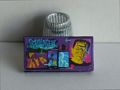 Dollhouse Miniature 1:12 Frankenstein Mystery Game 1960s haunted house game toy