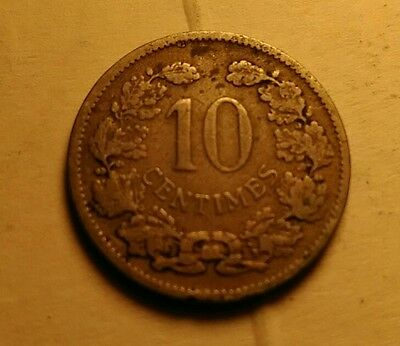 Luxembourg 10 cents 1901