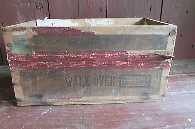 Antique Vintage Cigar Box Filled With Old Wooden Clothes Pins