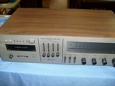 Panasonic series 44 Stereo Receiver 4 channel w/ 8 track Player RE-8484 / repair