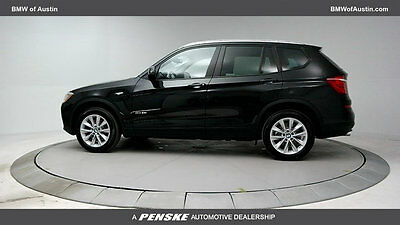 2017 BMW X3 sDrive28i Sports Activity Vehicle sDrive28i Sports Activity Vehicle 4 dr Automatic Gasoline 2.0L 4 Cyl Black Sapph