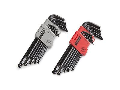 TEKTON Long Arm Ball End Hex Key Wrench Set Inch/Metric 26-Piece | 25282