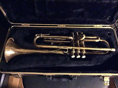 GREAT#17XXXX VINTAGE MARTIN COMMITTEE JAZZ Bb TRUMPET Playable Needs Small Fixes