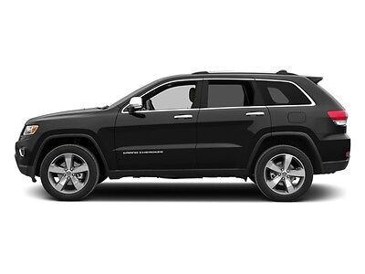 2014 Jeep Grand Cherokee RWD 4dr Overland RWD 4dr Overland SUV Gasoline 5.7L 8 Cyl  BASE