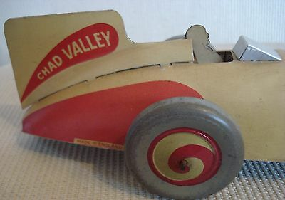 Chad Valley Early Toy Racing Car 1930 - 1950