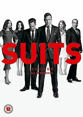 SUITS SEASON 6 DVD The complete sixth season in 4 Discs NEW FAST & FREE