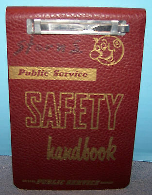 1967 Public Service Safety Handbook Reddy Kilowatt Arizona