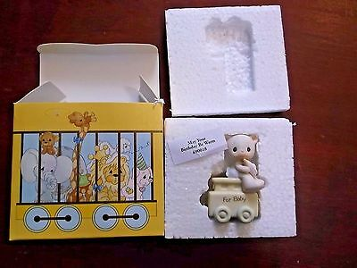"""Precious Moments Birthday Series """"May Your Birthday Be Warm""""  #690018 - In Box"""