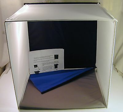 "Square Perfect 16"" Photo Studio Light Tent Soft Box Cube Folding Photography"