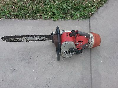 Stihl 08S Chainsaw With 20 Inch Bar Perfect Running Machine 60 Day Returns