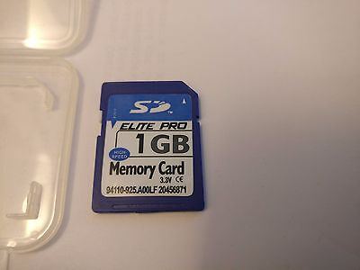 1GB SD Hi Speed Memory Card with Storage Container, Elite Pro - 94110-925.A00LF