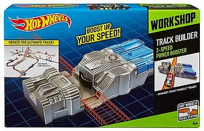 Hot Wheels Track Builder 2 Speed Power Booster to Increase Speed of Cars - NEW