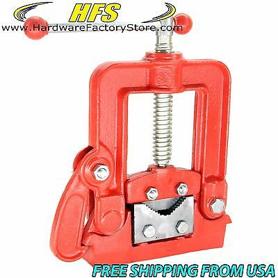 """HFS Brand New Forged Pipe Vise #1 Size: 1/2"""" - 2-1/4"""" (10-60Mm)"""
