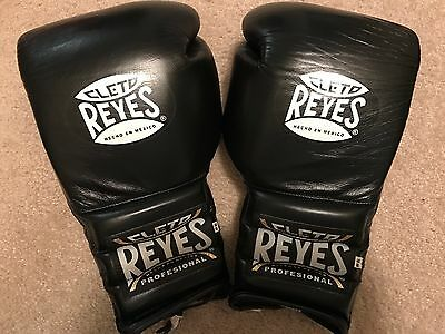 18oz Cleto Reyes Training Glove: Used For 3 Rounds