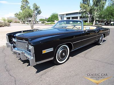 1976 Cadillac Eldorado Convertible 1976 Cadillac Eldorado Convertible - Absolutely Stunning  - Loaded - Must See!!