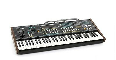 Kawai Sx-240 8 Voice Programmable Polyphonic Analog Synthesizer - Beautiful!