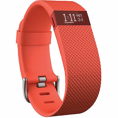 FITBIT Charge HR, Activity-Tracker, L, Orange