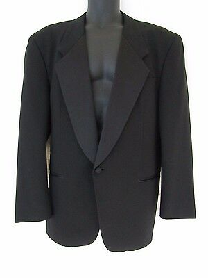 Gingiss Custom Collection Mens 1 Button Wool Formal Tuxedo Jacket sz 44R