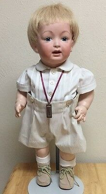 "20""  ANTIQUE REPRODUCTION GERMAN KESTNER JDK  211 TODDLER DOLL Porcelain/Compo"