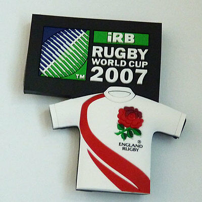 Rugby World Cup 2007 England Jersey Magnet