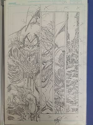 Spawn #199 complete 20 original art Erik Larsen McFarlane Savage Dragon Capullo