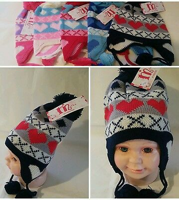 USA Cute Baby Toddler Kids Boys Girls Knitted Crochet Beanie Winter Warm Hat Cap