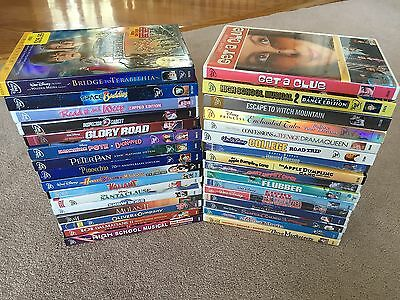 48 Disney DVDs Lot, some NEW SEALED, with Slipcovers - Peter Pan, Pinocchio