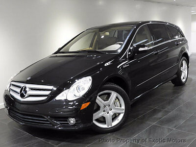 2007 Mercedes-Benz R-Class R63 AMG 2007 MERCEDES R63 AMG NAV REAR-CAMERA 3RD-ROW PANO PDC HEATED-SEATS 2TVs 1-OWNER